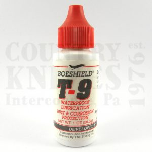 Buy Boeshield  T90001 Boeshield T9, 1 oz. at Country Knives.
