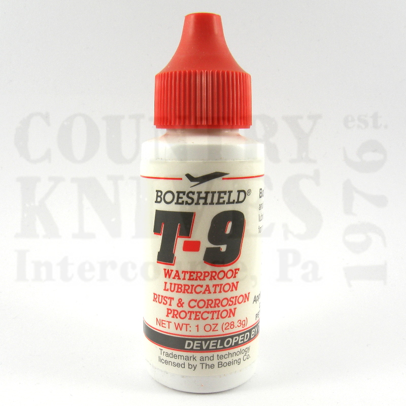 Buy Boeshield  T90001 Boeshield T9 - 1 oz. at Country Knives.