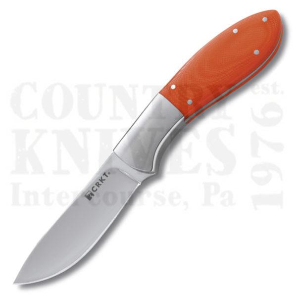 Buy CRKT  CR2840 2-Shot, Orange G-10 at Country Knives.