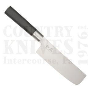 Buy Kai  K6716N 165mm Nakiri - Black Wasabi at Country Knives.