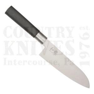 Buy Kai  K6716S 165mm Santoku - Black Wasabi at Country Knives.