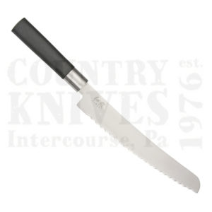 Buy Kai  K6723B 230mm Bread Knife, Black Wasabi at Country Knives.