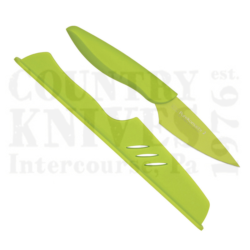 Buy Kai  KAB5068 Paring Knife - Green at Country Knives.
