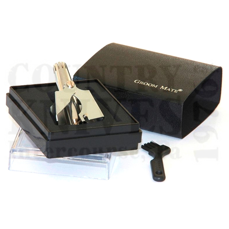Buy Groom Mate  PHR20420 Silver Wing XL - Nose & Ear Hair Trimmer at Country Knives.