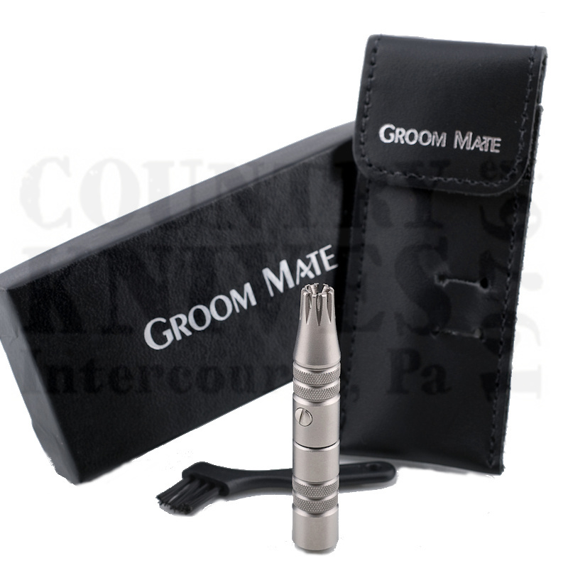 Buy Groom Mate  PHR25470 Platinum XL Plus - with Leather Pouch at Country Knives.