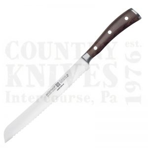 "Buy Wüsthof-Trident  WT4966-20 8"" Bread Knife, Ikon Blackwood at Country Knives."