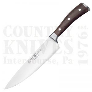 "Buy Wüsthof-Trident  WT4996-20 8"" Cook's Knife, Ikon Blackwood at Country Knives."