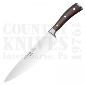 "Buy Wüsthof-Trident  WT4996-23 9"" Cook's Knife, Ikon Blackwood at Country Knives."