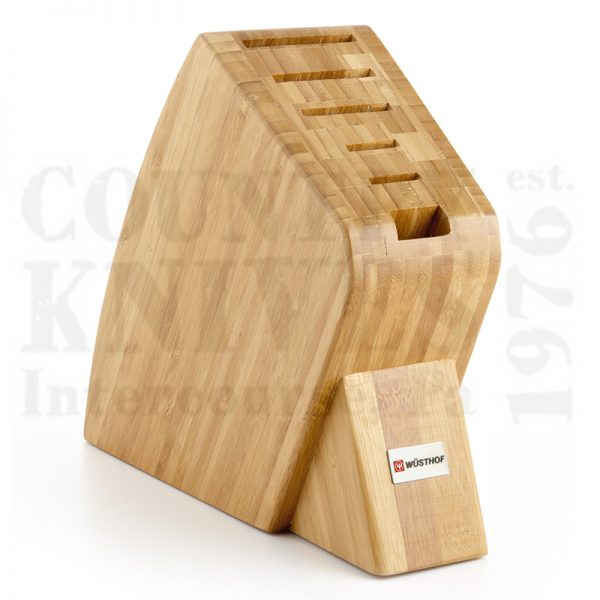 Buy Wüsthof-Trident  WT7249-1 Knife Block, Bamboo / 6 Slot at Country Knives.