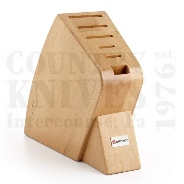 Buy Wüsthof-Trident  WT7249 Knife Block, Beech / 6 Slot at Country Knives.