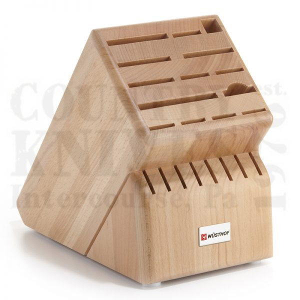 Buy Wüsthof-Trident  WT7263 Knife Block - Oak / 22 Slot at Country Knives.
