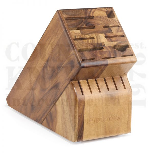 Buy Wüsthof-Trident  WT7267-17 Knife Block, Acacia / 17 Slot at Country Knives.