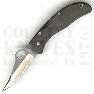 Buy Spyderco  C01SATU Worker, Tuffram at Country Knives.