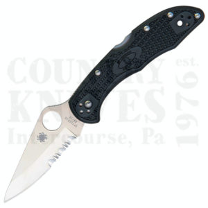 Buy Spyderco  C11PSBK4 Delica4 - FRN / CombinationEdge at Country Knives.