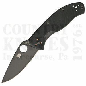 Buy Spyderco  C122GBBKP Tenacious, TiN / PlainEdge at Country Knives.