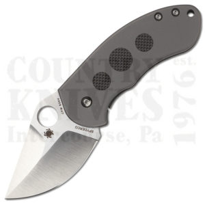 Buy Spyderco  C183TIP Chubby - Titanium / Carbon Fiber at Country Knives.