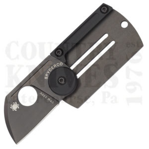 Buy Spyderco  C188ALTIBBKP Dog Tag Folder, TiCN Titanium at Country Knives.