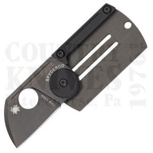 Buy Spyderco  C188ALTIBBKP Dog Tag Folder, TiCN Titanium at Country Knives.