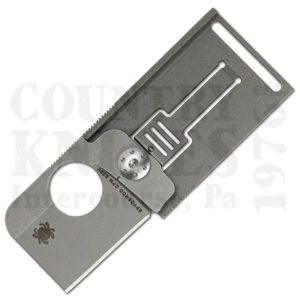 Buy Spyderco  C193TIP Squarehead, Titanium at Country Knives.