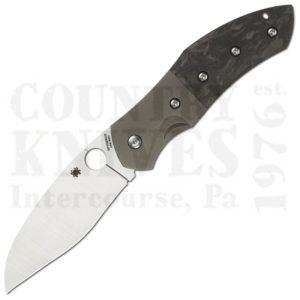 Buy Spyderco  C194CFTIP Myrtle, Titanium / Carbon Fiber at Country Knives.