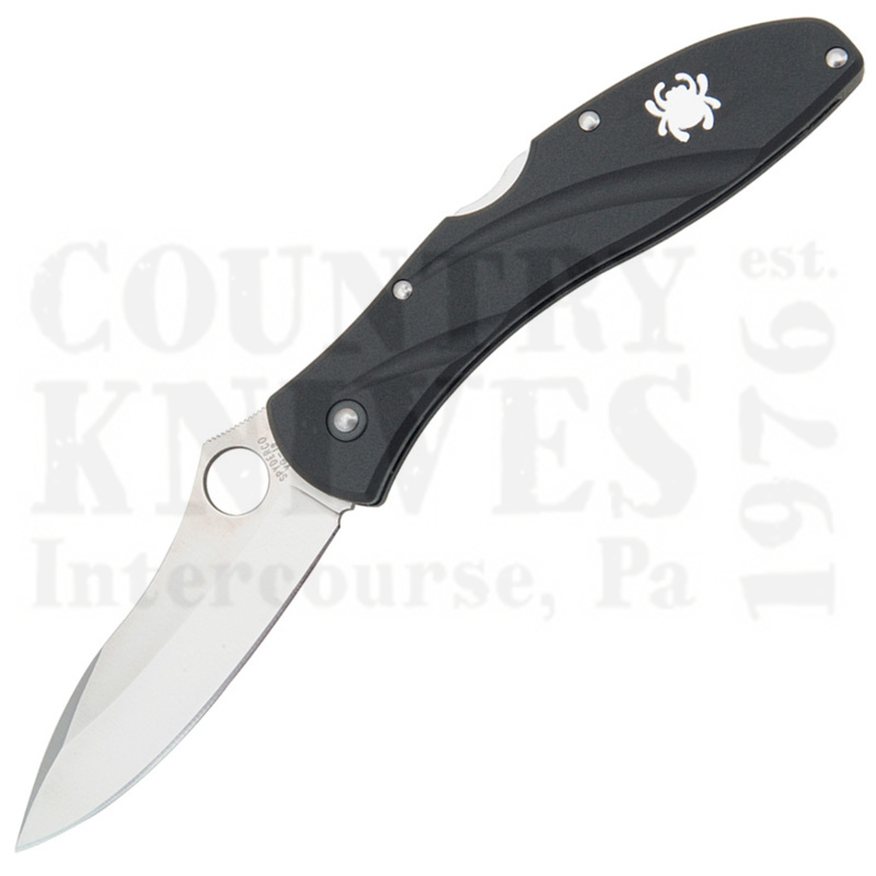 Buy Spyderco  C66PBK3 Centofante III - FRN / PlainEdge at Country Knives.