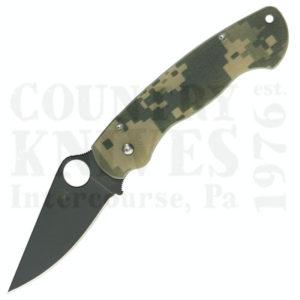 Buy Spyderco  C81GPCMOBK ParaMilitary, W-DLC / Digicam at Country Knives.