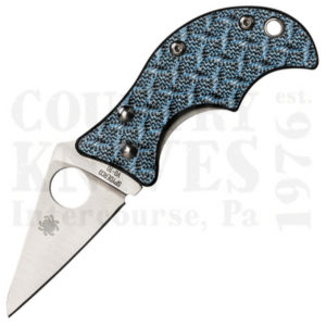 Buy Spyderco  C86GFBLP Spin, Blue Nishijin at Country Knives.