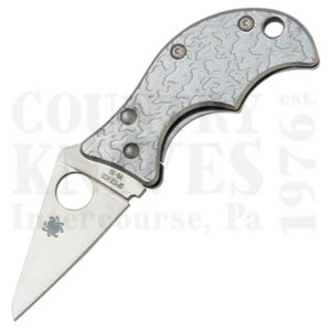 Buy Spyderco  C86PET Spin, Etched Handle at Country Knives.