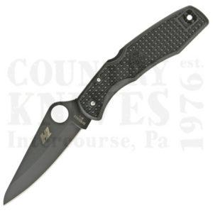 Buy Spyderco  C91PBBK Pacific Salt - TiN / PlainEdge at Country Knives.