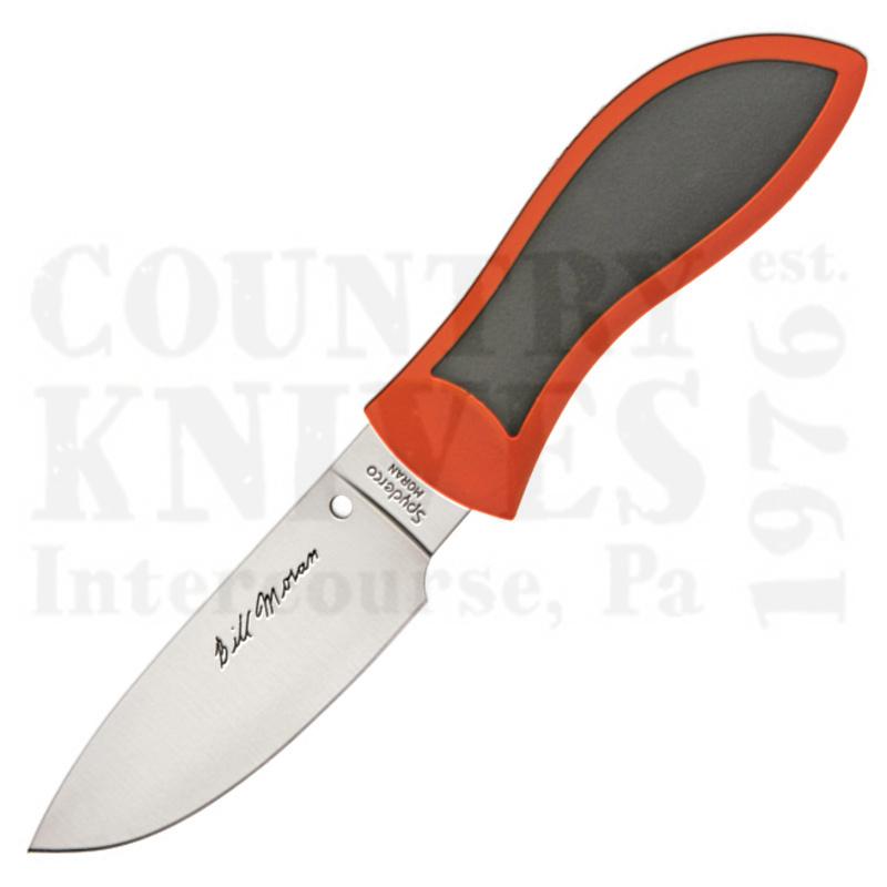 Buy Spyderco  FB02POR Moran - Orange / Drop Point at Country Knives.