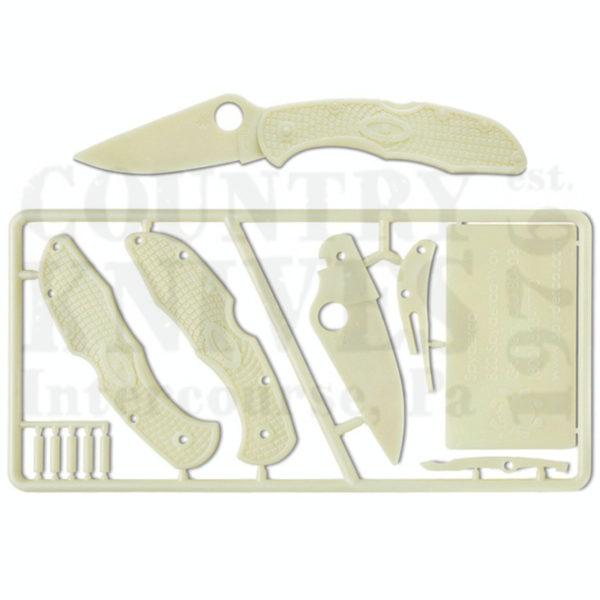 Buy Spyderco  PLKIT1 Delica4, Plastic Kit at Country Knives.