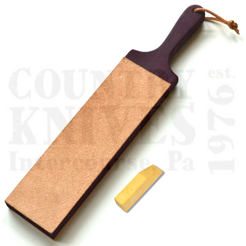 Buy Flexcut  PW16 Dual-Sided Paddle Strop - with Gold Polish at Country Knives.