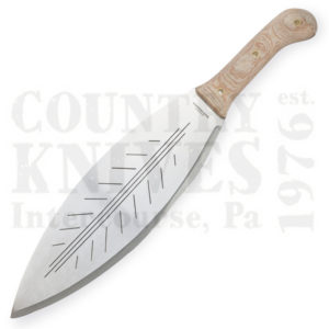 Buy Condor Tool & Knife  CTK3931-13.5HC Big Leaf Machete, with Leather Sheath at Country Knives.