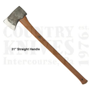 Buy Gränsfors Bruk  GBA434-3 American Felling Axe, 31'' Straight Handle at Country Knives.