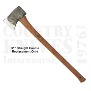 Buy Gränsfors Bruk  GBA434-3-H Replacement Handle for American Felling Axe, 31'' Straight Handle at Country Knives.