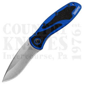 Kershaw1670NBSWBlur – Navy Blue / Stonewash