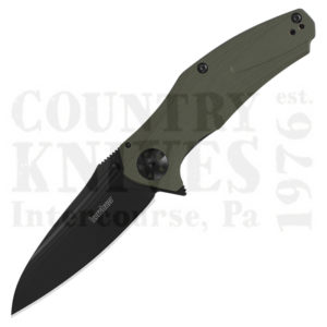 Buy Kershaw  K7008OLBLK Natrix XL, O.D. Green G-10 at Country Knives.