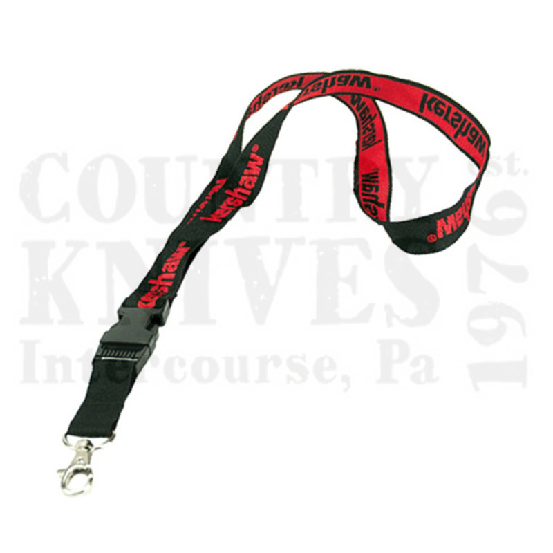 Buy Kershaw  KLANYARDKERLOGOBLKRED Lanyard - Black / Red at Country Knives.