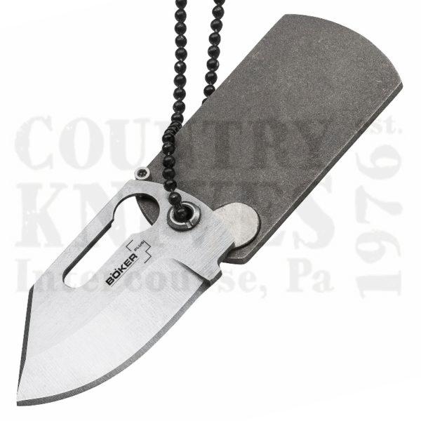 Buy Böker Böker Plus B-01BO210 Dog Tag Knife, 440C / Titanium at Country Knives.