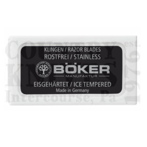 Buy Böker  04BO160 Razolution, Ice Hardened / 10 per Pack at Country Knives.