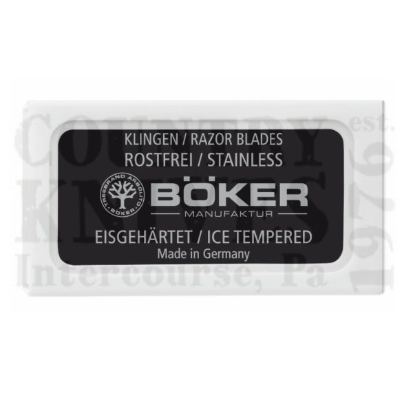 Buy Böker  04BO160 Razolution, Ice Hardened / 10 per Pack at Country Knives.