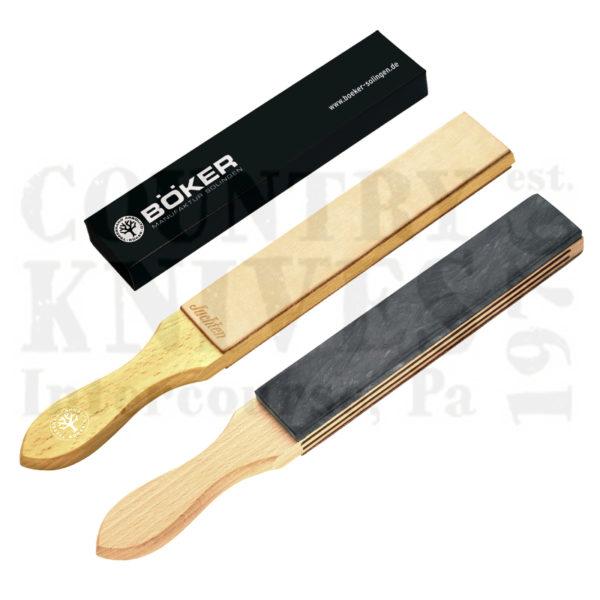Buy Böker  B-090501 Razor Strop, Slate / Leather  at Country Knives.
