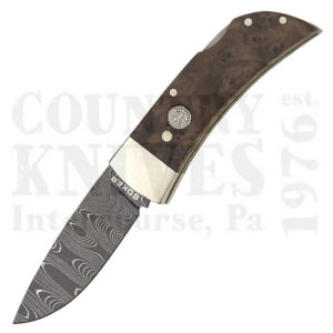 Buy Böker  B-1004DAM Small Lockback, African Thuya Wood at Country Knives.