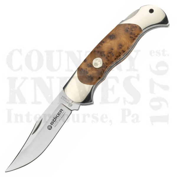Buy Böker  B-2002TH Lockback, African Thuya Wood at Country Knives.