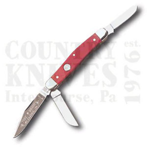 Buy Böker  B-7474SS Stockman, Smooth Red Bone at Country Knives.
