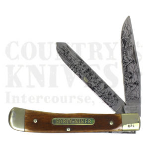 Buy Böker  B-1986LTD The Forty-Niner - Smooth Brown Bone at Country Knives.