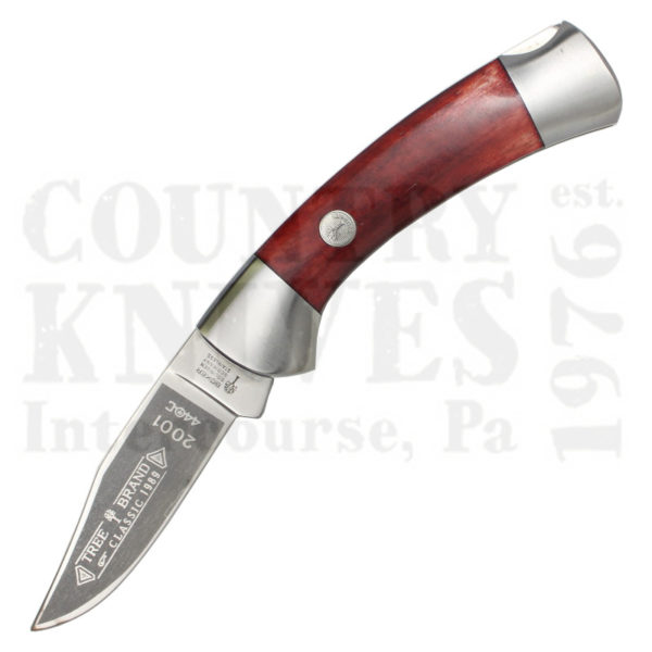 Buy Böker  B-2001RB Lockback, Smooth Red Bone at Country Knives.
