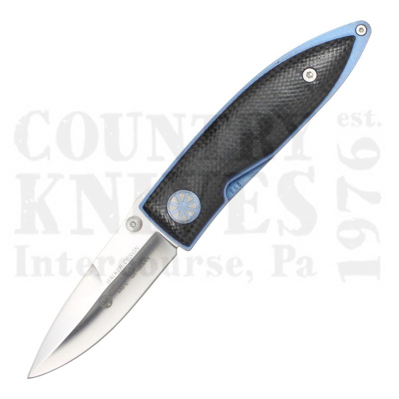 Buy Böker  B-2075 Sky Walker - Titanium / Carbon Fiber at Country Knives.