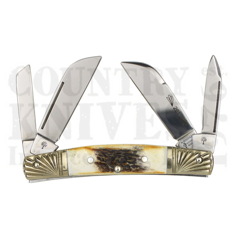 Buy Böker  B-5464-23DT Congress - India Stag at Country Knives.