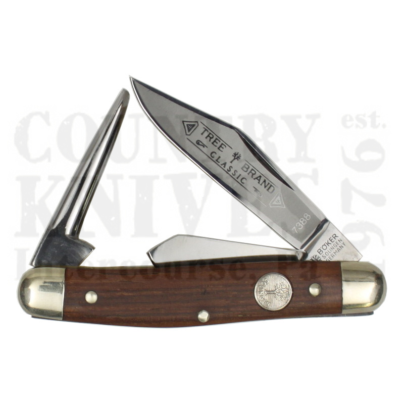 Buy Böker  B-7388 Medium Stockman - w/ Leather Punch at Country Knives.